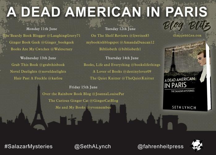 Dead American Paris tour poster
