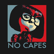 edna mode no capes