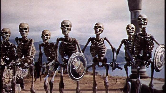 sinbad skeletons