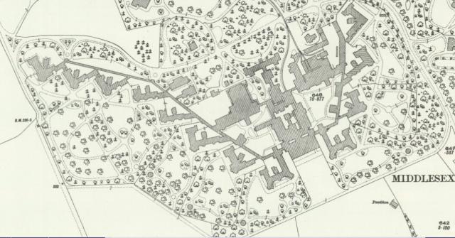 Napsbury original plan