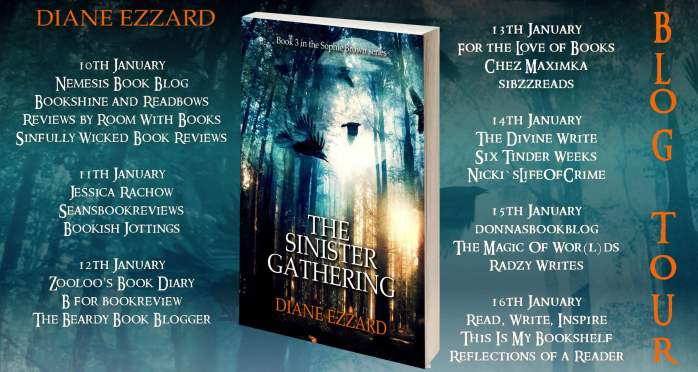 the sinister gathering full tour banner