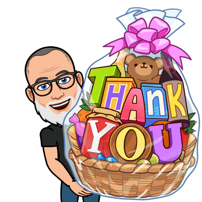 thank you roses bitmoji