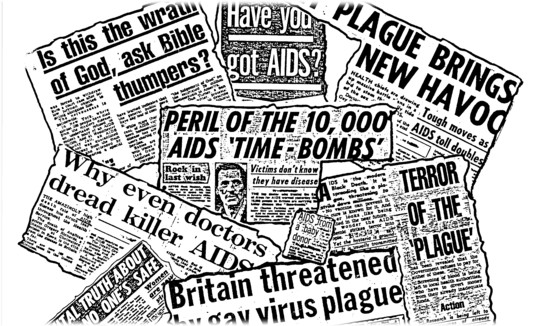 AIDS-Press-collage