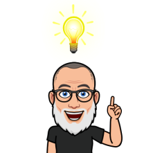 light bulb moment bitmoji