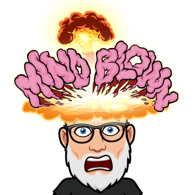mind blown bitmoji